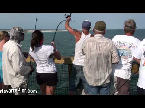 Navarre Beach Fishing Pier, FL – The King Bite Was On