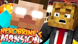 Minecraft Herobrine's Mansion - Halloween Horror Throwback