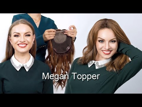 Upgrade Claire Plus Virgin Remy Human Hair Mono Topper