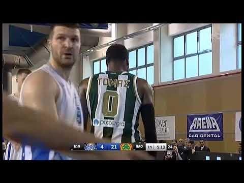 Basket League 2019-2020: ΙΩΝΙΚΟΣ Ν. – ΠΑΝΑΘΗΝΑΪΚΟΣ | 08/03/2020 | ΕΡΤ