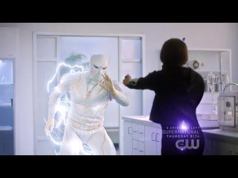 The Flash 5x18 Thawne helps Nora defeat Godspeed