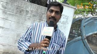 Cinematographer Umasudhan at Eaganapuram Movie Launch
