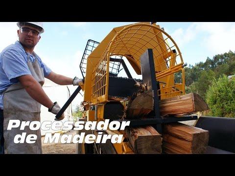 Processador de Madeira PML 1000 - produção de lenhas para comercialização