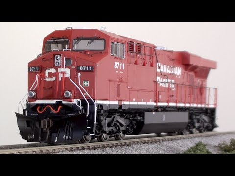 ES44AC - Full review & testing of the HO scale, Athearn Genesis ES44AC