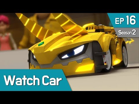 Power Battle Watch Car S2 EP16 Clash Again! Jino VS Kai