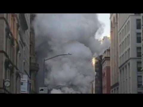 Αναστάτωση από έκρηξη στο Μανχάταν
