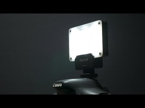 Aputure Amaran AL-M9 - on-camera LED light review