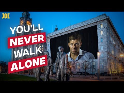Liverpool legends sing You'll Never Walk Alone