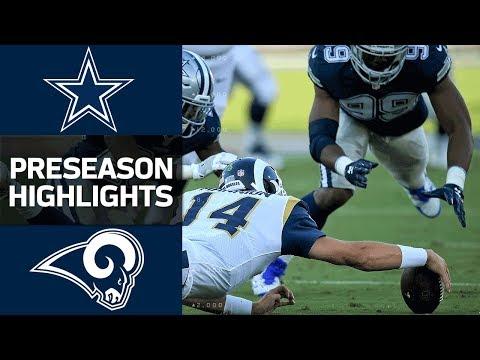 Cowboys vs. Rams | NFL Preseason Week 1 Game Highlights - Thời lượng: 3:26.