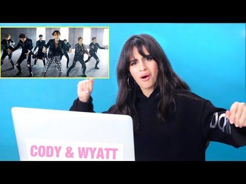 CAMILA CABELLO REACTS TO K-POP (видео)