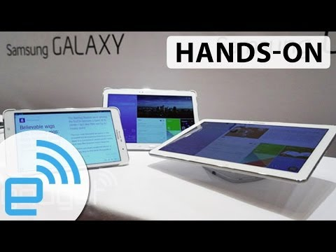 Samsung Galaxy Tab Pro lineup at CES 2014 | Engadget