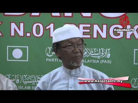 PRK N.01- Jentera PAS Pengkalan Kubor antara Jentera DUN Terbaik di seluruh Kelantan