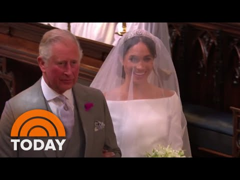 Royal Wedding: See Meghan Markle Walk Down The Aisle  TODAY