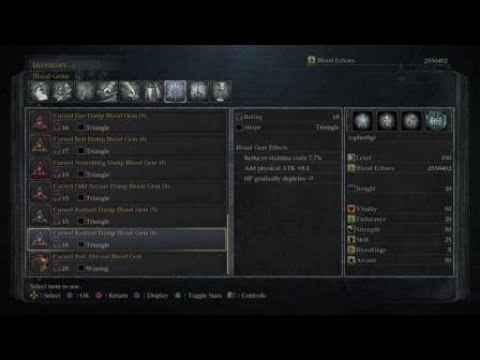 Bloodborne: NEW Chalice Type (Sinister Isz FRC) Explored, Top-To-Bottom