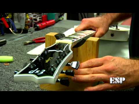 Tech Corner -- Restringing an ESP/LTD Guitar