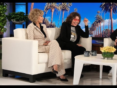 Lily Tomlin & Jane Fonda Talk Scandalous Plotlines on 'Grace and Frankie'