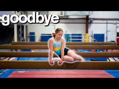 My Daughter's Emotional Goodbye To Gymnastics 💔