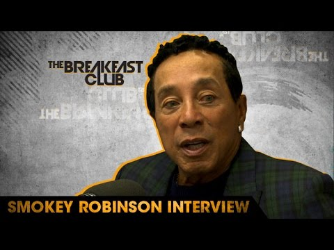 Smokey Robinson Discusses Motown, Playing Music During Segregation Days and How He Got His Name W/ The Breakfast Club