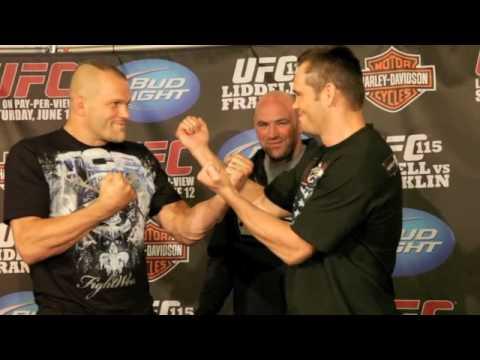 Dana White UFC 115 Video Blog 1  June 10th