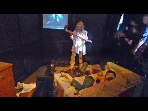 The Horrors of Blumhouse Maze at Halloween Horror Nights Hollywood 2017