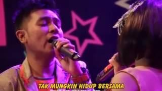 TASYA & GERRY DINDING KACA(karaoke) DANGDUT PALLAPA SERA MONATA