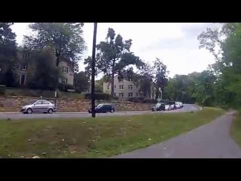 Biking the trails in Arlington, VA