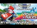 Mario Kart 8 Racing w/Viewers (DLC) | Open to EVERYONE | Top 3 get in MK8 Hall of Fame!