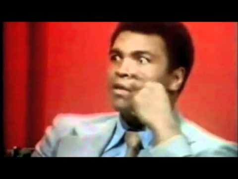'talked - Muhammad Ali speaks to Parkinson about how Smokin' Joe Frazier was the only one that talked back to him and kept on fighting on, even after taking numerous h...