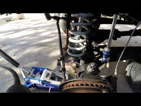 Texas Auto Gear install Solo Motorsports Bronco coilover shock mount