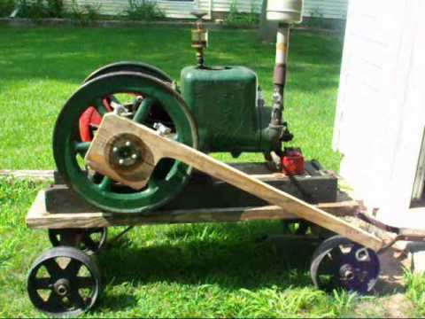 Part 1 Prony Brake on HIT & Miss Engine FAIRBANKS MORSE