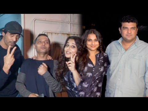 Bollywood Celebs At Vidya Balan's Kahaani 2 Screen