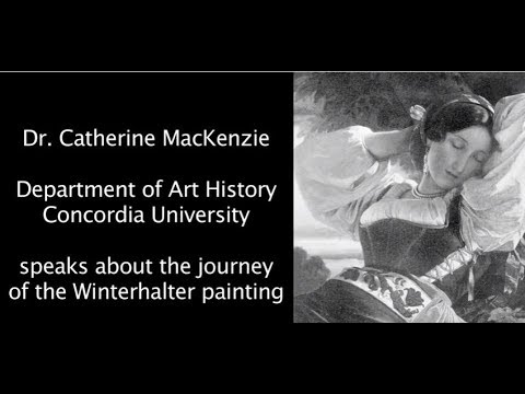 Die Reise des Winterhalter Gemälde