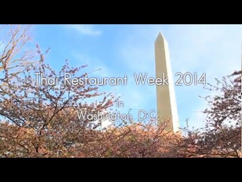 Thai Restaurant Week 2014