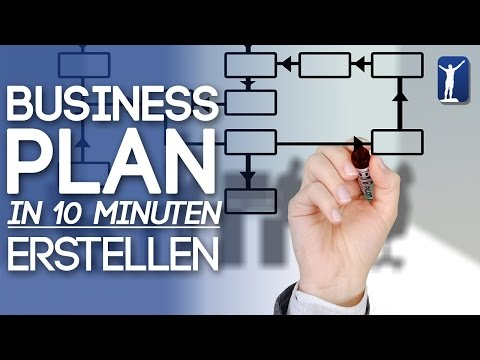 Business Plan in 10 Minuten erstellen! So gehts!