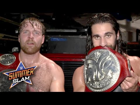 Dean Ambrose & Seth Rollins own tag team wrestling: Exclusive, Aug. 20, 2017_Sport videók