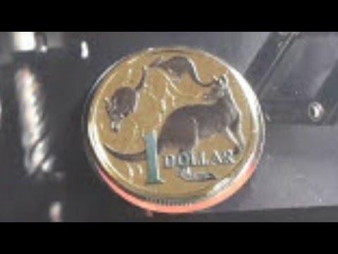Australian rare 2014 $1 coin in mint set