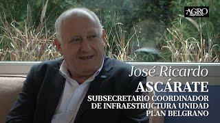 José Ascárate - Subsecretario Coordinador de Infraestructura Plan Belgrano