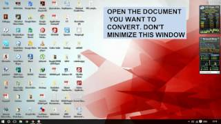 In this video, you can learn how to copy the words from a scanned document (PDF/JPEG/Any other Picture) to Word file.