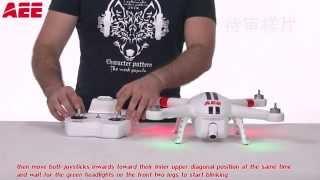 AEE Toruk (quadcopter AP10) - operating instructions