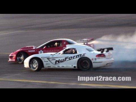 corvette vs viper @ las vegas