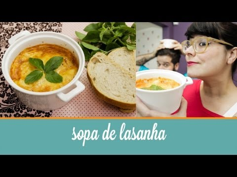 sopa - Cozinha para quem no sabe cozinhar. Sem fogo, sem complicao. Aprenda receitas deliciosas, com poucos ingredientes. Tudo simples e rpido. Neste vdeo te ...