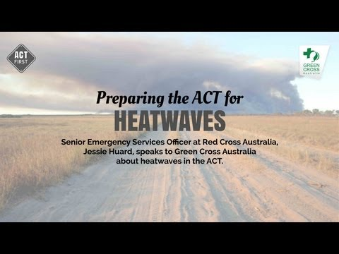 Heatwaves in the ACT