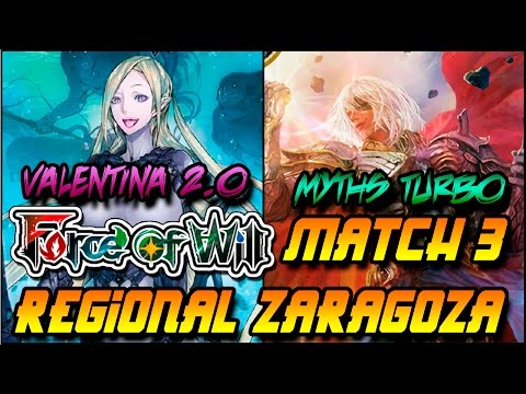 Force of Will  Zaragoza Regional GP Ronda 5 Game 3