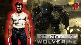 LOGAN Vs ROBÔS - X-Men Origins: Wolverine #9