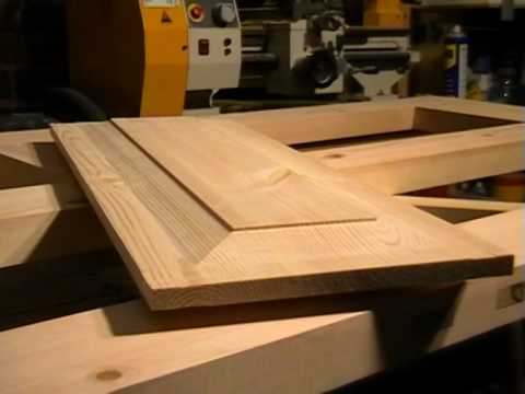 making doors - Full details at http://www.iDoStuff.co.uk. How to make a timber external door. This forth part shows how to make raised panels using a simple jig and straigh...
