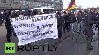 Ludwigshafen Germany  city images : Germany: 'Hooligans against Salafists' descend on Ludwigshafen