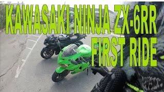4. Kawasaki Ninja ZX-6RR First Ride