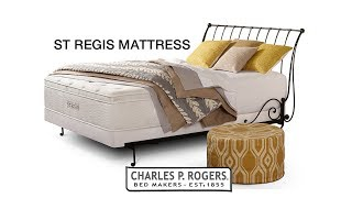 St. Regis Mattress video