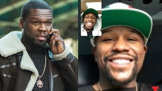 Video 50 Cent Sends Goons To Floyd Mayweather After He Facetimes 50 Cent's Son MP3, 3GP, MP4, WEBM, AVI, FLV November 2018