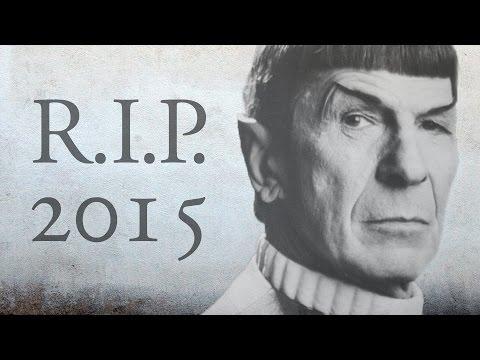 Rest in Peace 2015 - Verstorbene Stars   In Memoriam